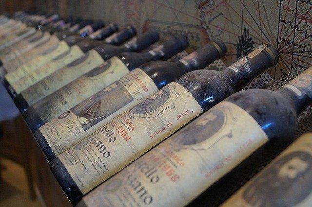 Weinkeller früher