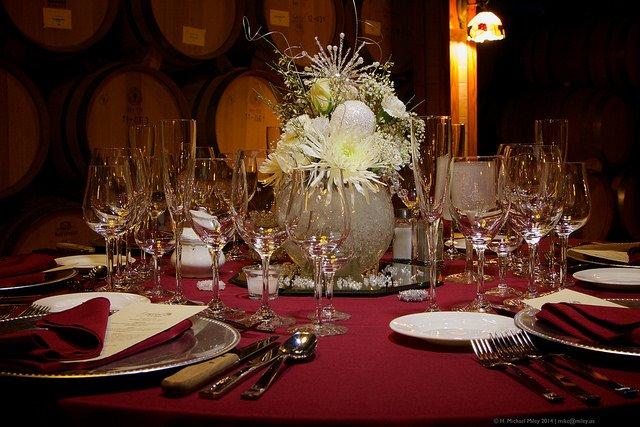 Geschmackvolle Dekoration in der Gastronomie