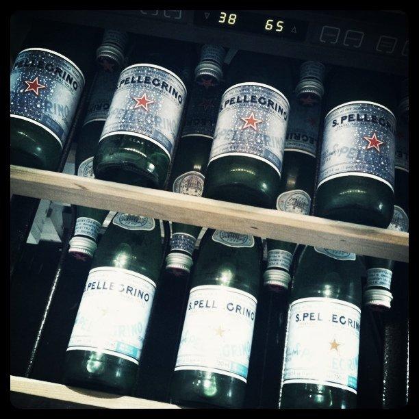 Kühlung der Flaschen im Kühlschrank