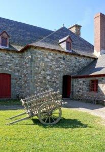 Klassisches Backhaus aus Stein