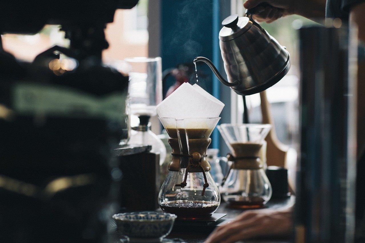 das perfekte Wasser für den Kaffee